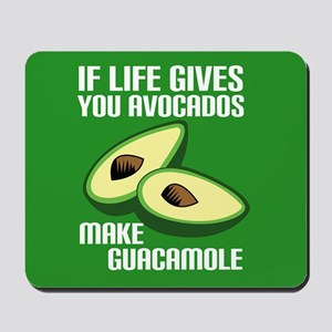 Avocado Humor Mousepad
