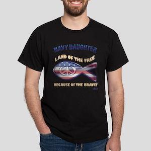 Navy Daughter Dark T-Shirt