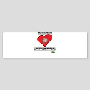 Satan-Proof Your Heart... Rea Sticker (Bumper)