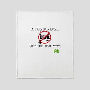 A Prayer A Day... Throw Blanket