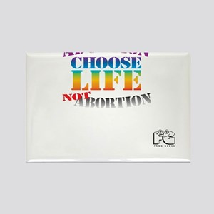Adoption/No Abortion Rectangle Magnet