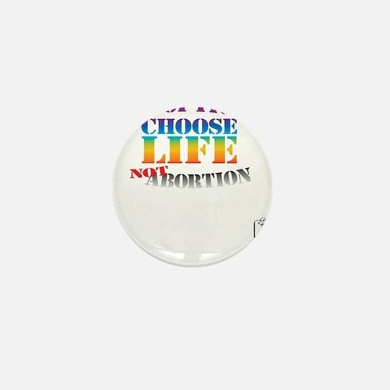 Adoption/No Abortion Mini Button