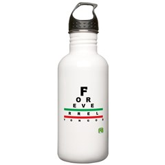 FROG eyechart Water Bottle