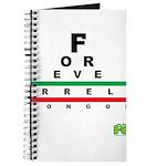 FROG eyechart Journal