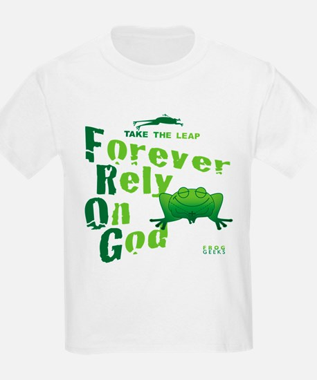FROG = Forever Rely On God T-Shirt
