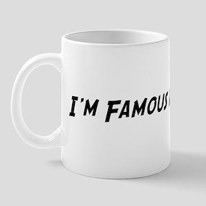 Famous in Kazakstan Mug