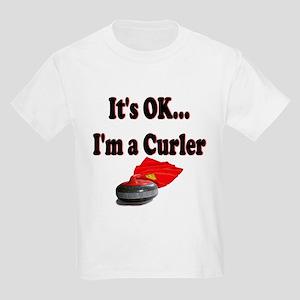 It's Ok...I'm a Curler Kids T-Shirt