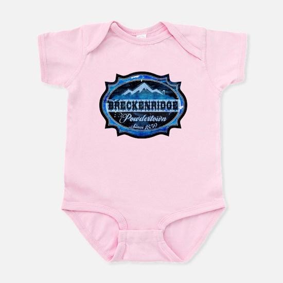 Breckenridge Powdertown Ice Infant Bodysuit