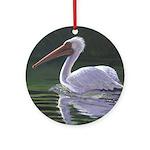 Pelican Ornament (Round)