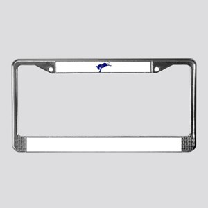 Indiana Democrat Donkey Flag License Plate Frame