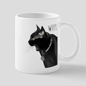 WTF kitty Mug