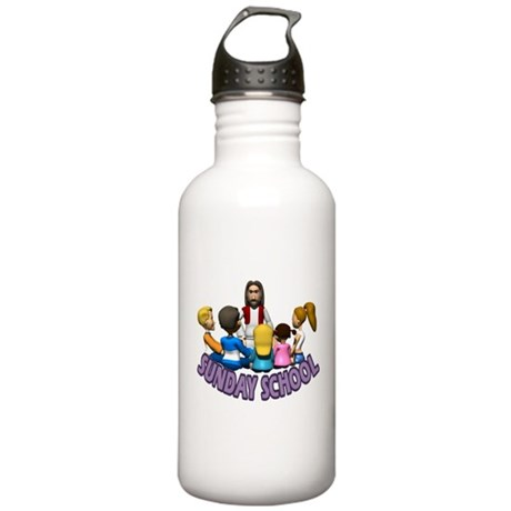 Sunday School Stainless Water Bottle 1.0L
