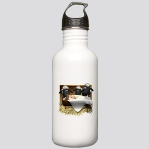 Baby Jesus & Sheep Stainless Water Bottle 1.0L