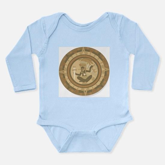 Mayan Calendar Long Sleeve Infant Bodysuit