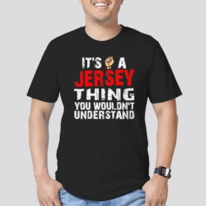 Jersey Thing Men's Fitted T-Shirt (dark)