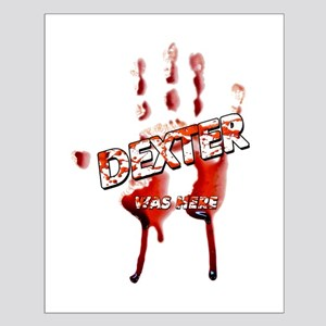 Dexter ShowTime Bloody Hand w Small Poster