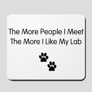 lab luv Mousepad