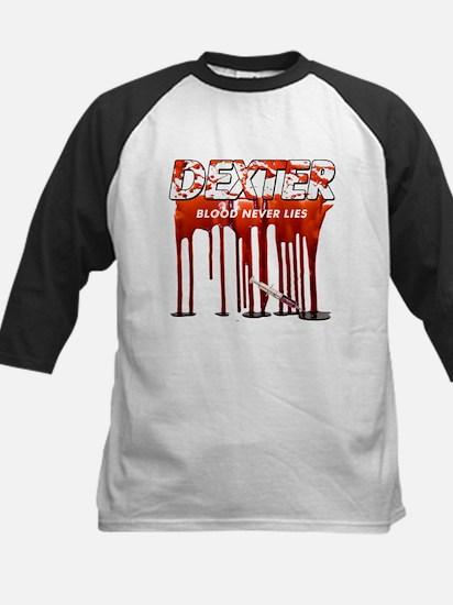 Dexter ShowTime blood never l Kids Baseball Jersey