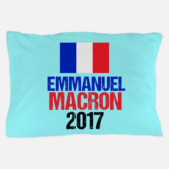 Emmanuel Macron Pillow Case
