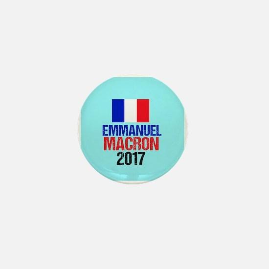 Emmanuel Macron Mini Button