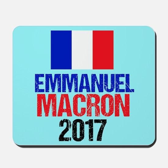 Emmanuel Macron Mousepad