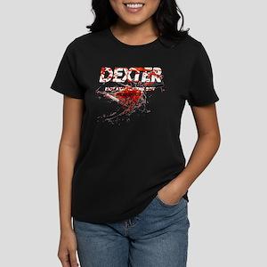 Dexter ShowTime Not Exactly T Women's Dark T-Shirt