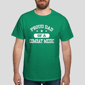 Proud Combat Medic Dad Dark T-Shirt