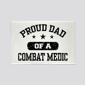 Proud Combat Medic Dad Rectangle Magnet