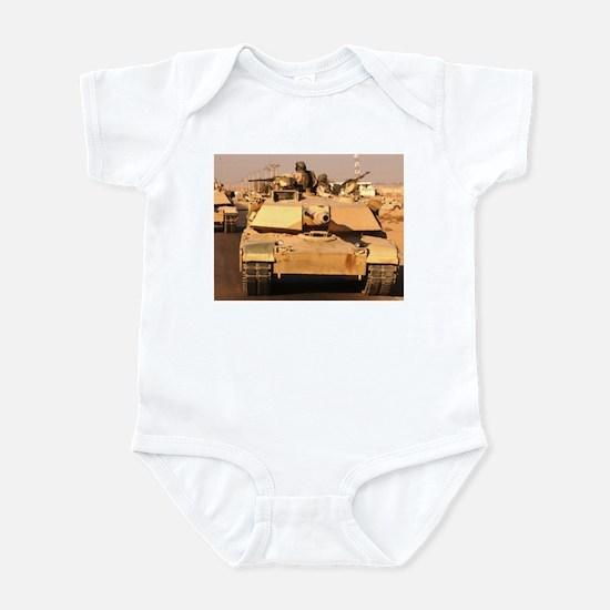 M1A1 Abrams MBT patrol route  Infant Creeper