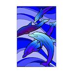 Dolphin Mini Poster Print