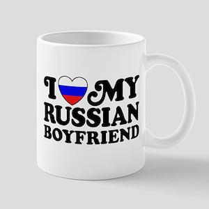 I Love My Russian Boyfriend Mug