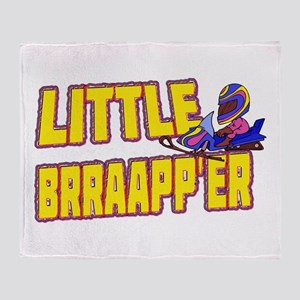 Little Brraapp'er Throw Blanket