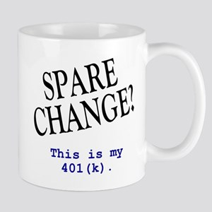 """Spare Change"" Work Mug"