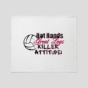 Hot Hands & Great Legs Throw Blanket