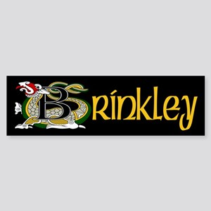 Brinkley Celtic Dragon Sticker (Bumper)