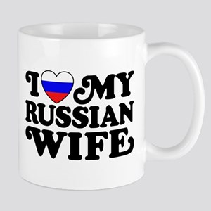 I Love My Russian Wife Mug