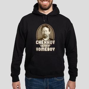 Chekhov is my Homeboy Hoodie (dark)