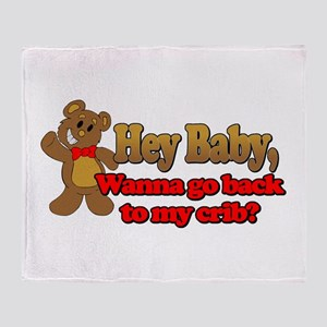 Baby Pick-up Line Throw Blanket