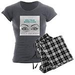 Spectrumeye Women's Charcoal Pajamas