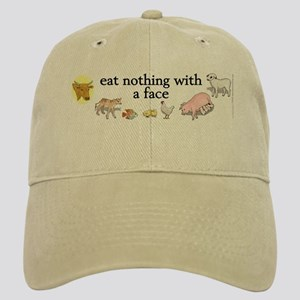 eat nothing with a face Cap