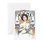 Mucha is my Homeboy Greeting Cards (Pk of 10)