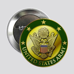 "Army Green Logo 2.25"" Button"