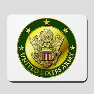 Army Green Logo Mousepad