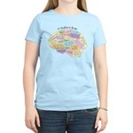 Quilter's Brain Women's Light T-Shirt