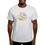 Quilter's Brain Light T-Shirt