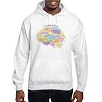 Quilter's Brain Hooded Sweatshirt