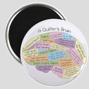 Quilter's Brain Magnet