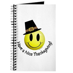 Thanksgiving Smiley 1 Journal