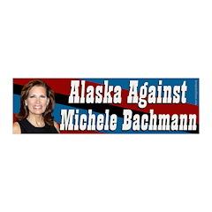 Alaska Against Bachmann Wall Banner