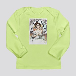 Mucha is my Homeboy Long Sleeve Infant T-Shirt